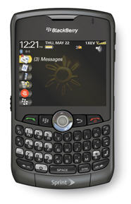 Sprint BlackBerry Curve Still Coming Out In April