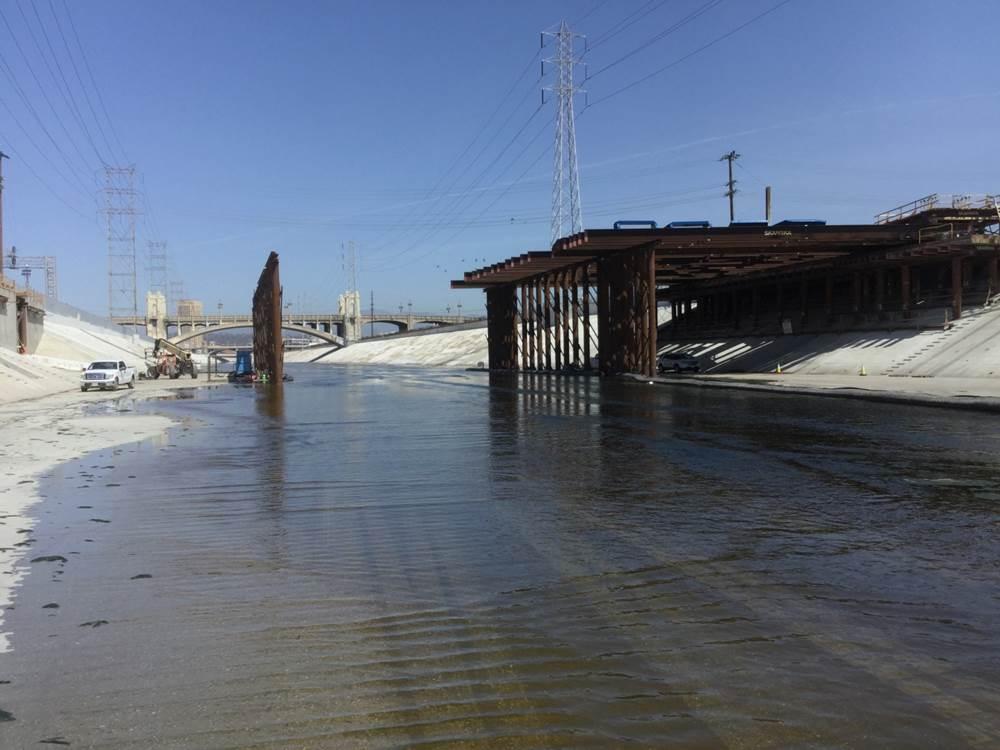 6 New Bridge Deck Spanning the LA River