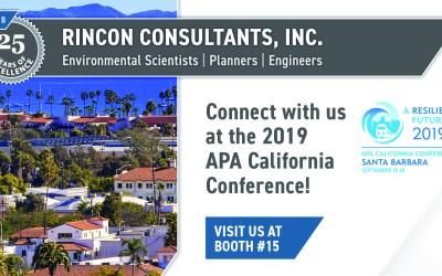 Rincon at the 2019 APA CA Conference