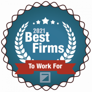 2019 Best Firms to Work For Award by the Zweig Group