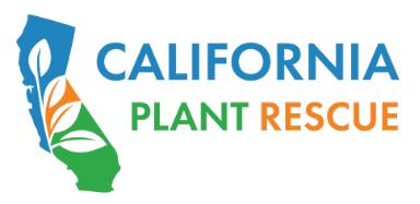 California Plant Rescue logo