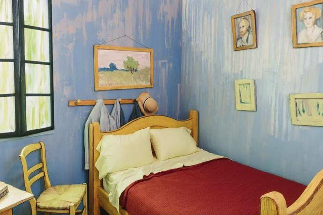 Dormir habitación Van Gogh