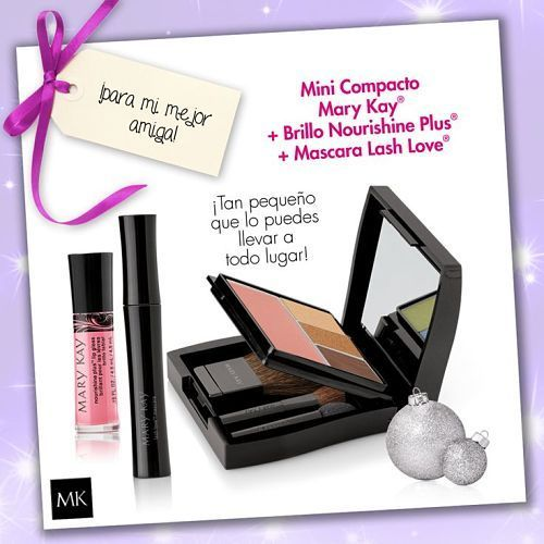 Ideas de regalos, mini estuche compacto mini Mary Kay