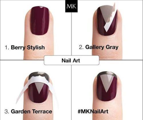 Diseños de uñas: mary kay nail art cuatro pasos