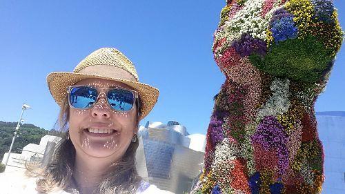Visita a Bilbao: Selfie Puppy