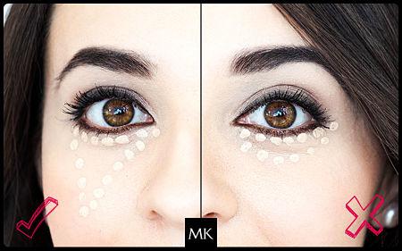 Diferencia entre el corrector y el iluminador de Mary Kay
