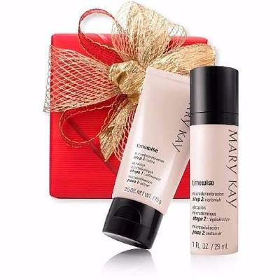 Ideas para regalar belleza: set-dermoabrasion Mary Kay