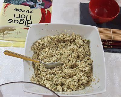 Taller de cocina de Cocinando entre amig@s: arroz de coliflor