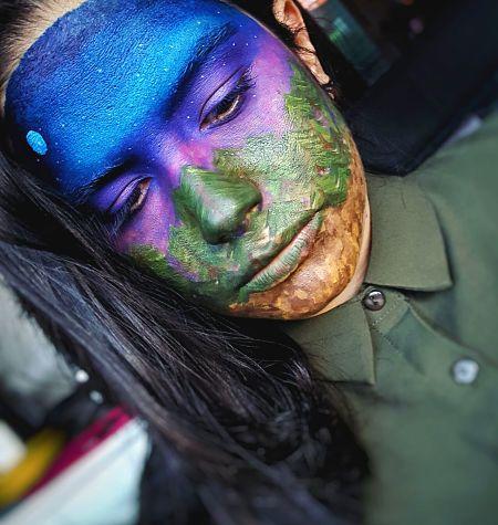 Marta Gómez Muñoz: Facepaint. Automaquillaje