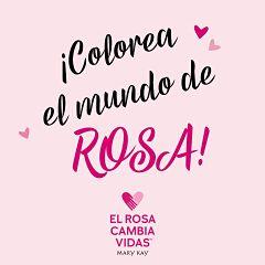 Colorea el mundo de rosa