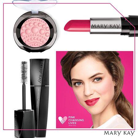 look El rosa cambia vidas Mary Kay