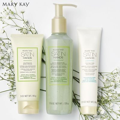 Set Manos de Seda Satin Hands de Mary Kay