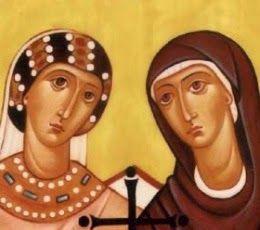 Santa Felicidad y Santa Perpetua mártires