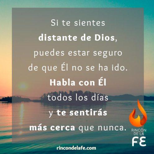 Habla con Dios todos los días