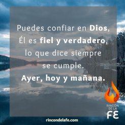 Ayer, hoy y mañana con Dios
