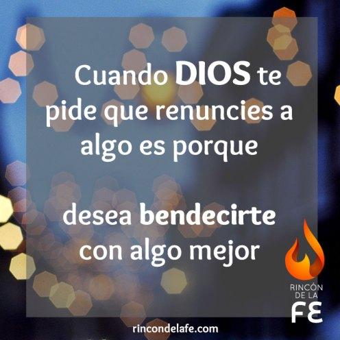 Reflexiones de bendición cortas de Dios