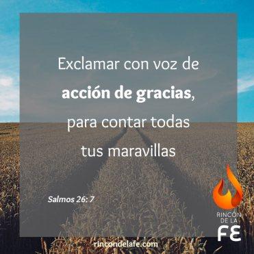 Imágenes y citas bíblicas de acción de gracias