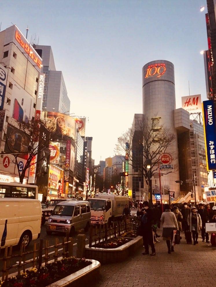 A Quick Glance of Shibuya, Tokyo