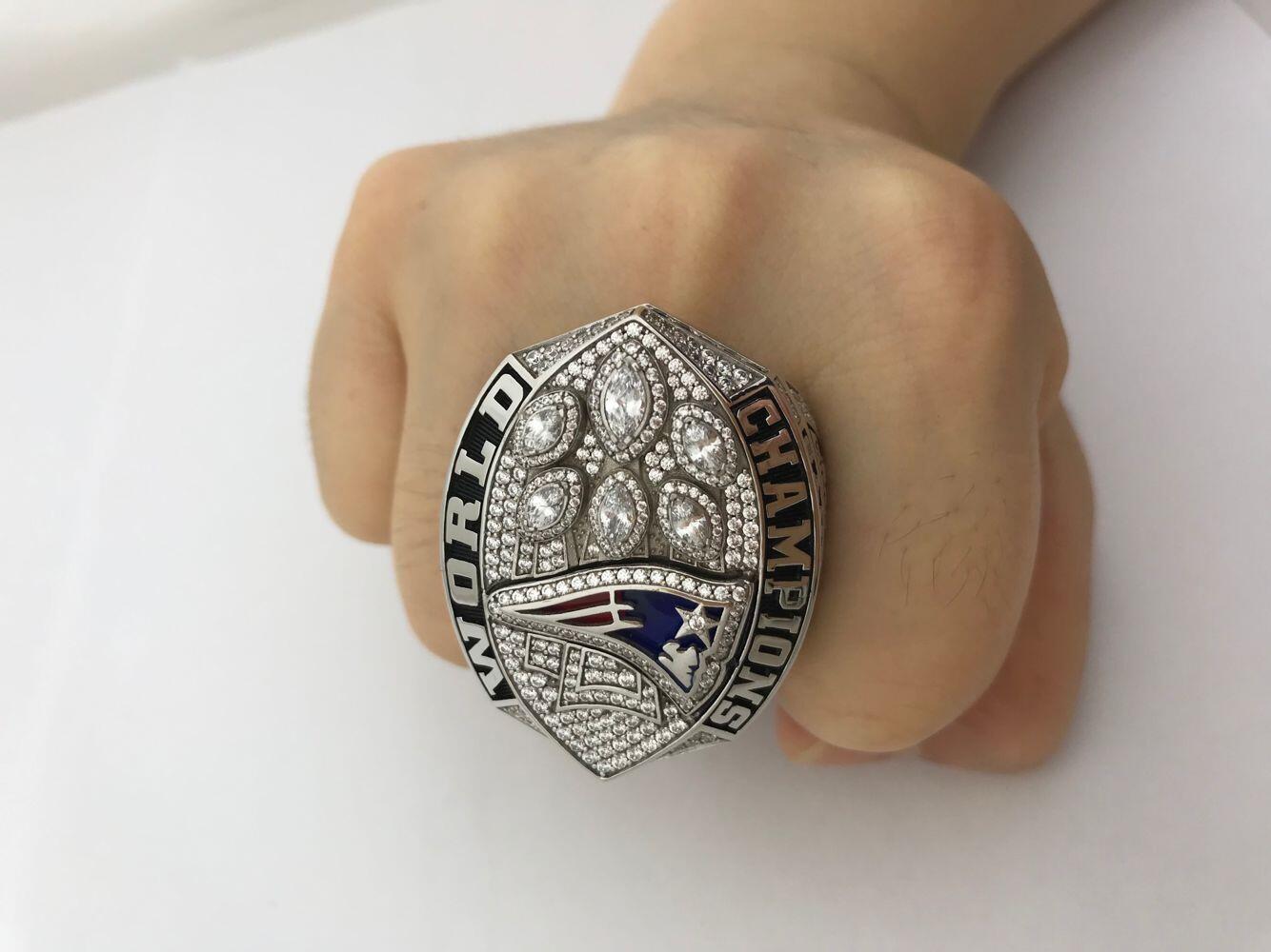 New England Patriots Nfl Super Bowl Championship Ring