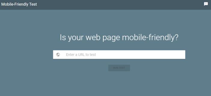 測試你的網頁是否 MOBILE FRIENDLY,直接影響SEO