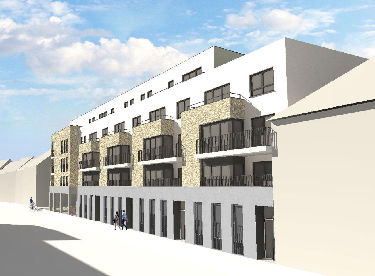 nieuwbouw sociale woningen Melsele