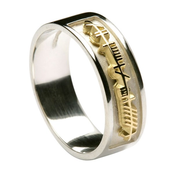 Ogham My Soul Mate Ring Bagues Celtiques Rings From