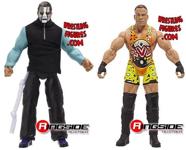 "Jakks TNA ""Five Star Rivalry"" Two Pack"