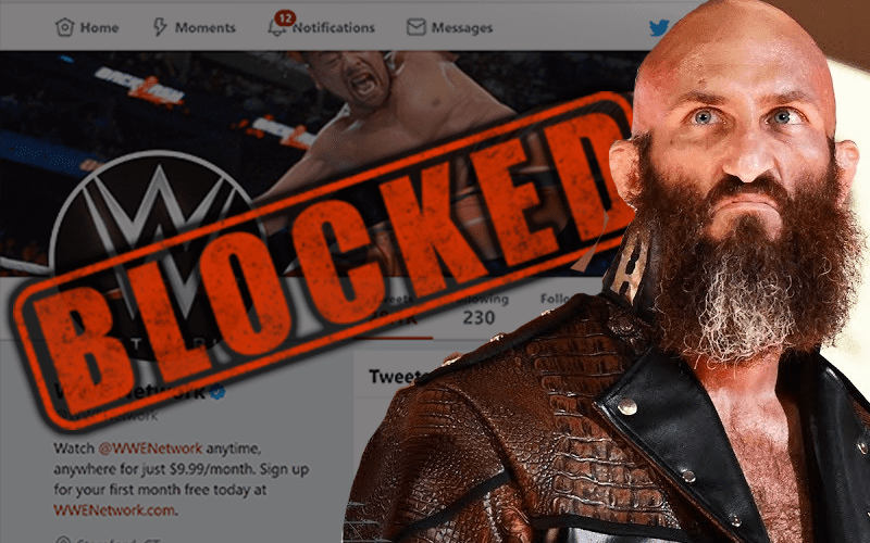 Tommaso Ciampa Blocks The WWE Network Twitter Account