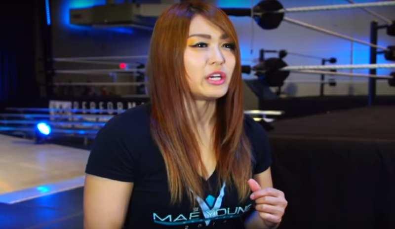 Io Shirai Promises To Change Women's Pro Wrestling At WWE Evolution