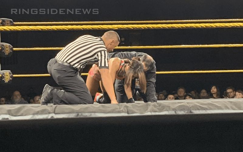 Dakota Kai Possibly Injured At Wwe Nxt Event
