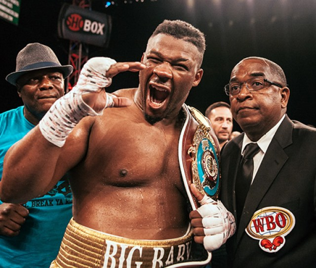 Jarrell Miller Tests Positive For A Third Yes A Third Time
