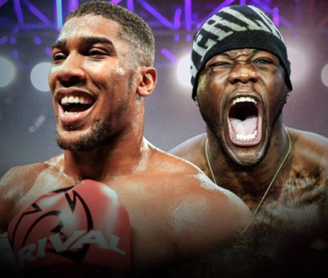 Deontay Wilder Accepts Offer To Fight Anthony Joshua In U K But Deal Not Done Yet