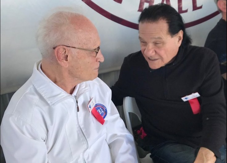 Judge and referee Guy Jutras (left) and matchmaker Don Elbaum. Photo courtesy of the International Boxing Hall of Fame