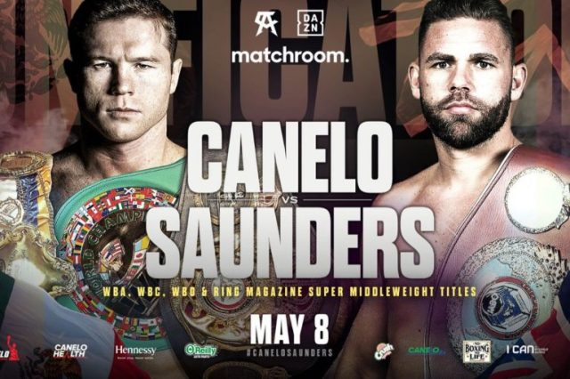 Canelo Alvarez and Billy Joe Saunders settle issue on ring size - The Ring