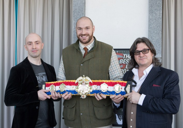 Image result for tyson fury lineal title