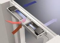 """Schüco VentoTherm e TipTronic, sistemi di ventilazione e """"finestre intelligenti"""""""