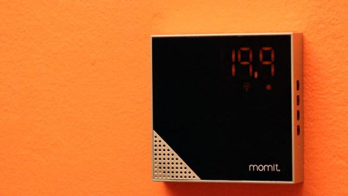 momit Home Thermostat, climatizzazione smart per edifici intelligenti