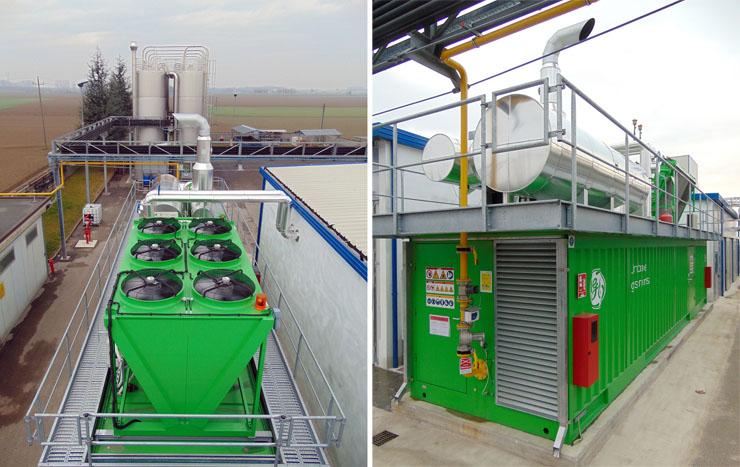 Motori a gas GE Jenbacher e trigenerazione per l'italiana Ramaplast