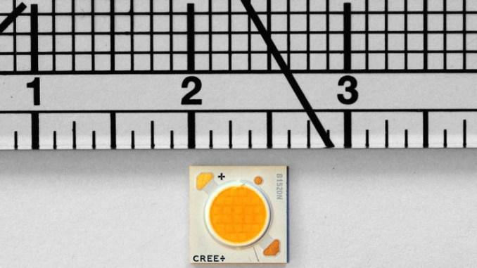 LED Cree XLamp CXA2, la più alta densità luminosa del settore