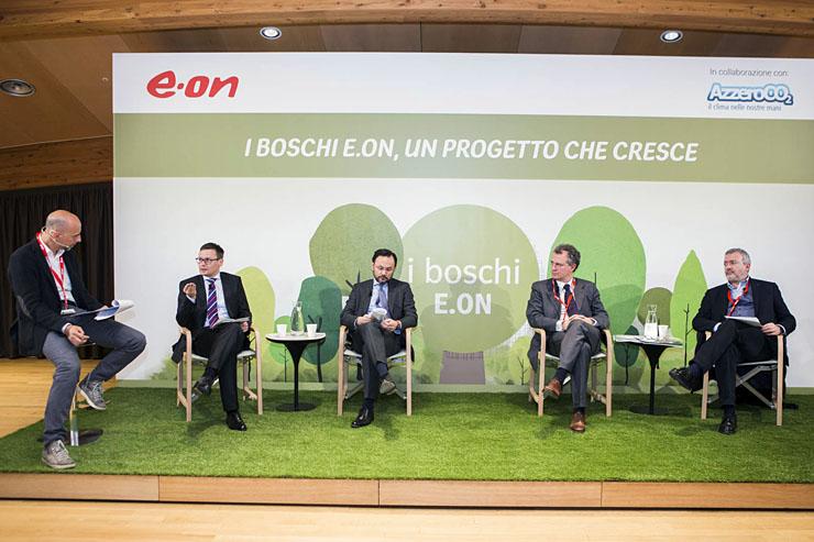 E.ON, cresce l'impegno ambientale e il numero di alberi piantumati