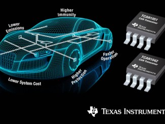 Texas Instruments, nuovi transceiver CAN per l'automotive