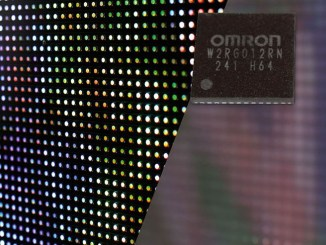 Omron W2RG012RN, dissolvenza LED uniforme e impercettibile
