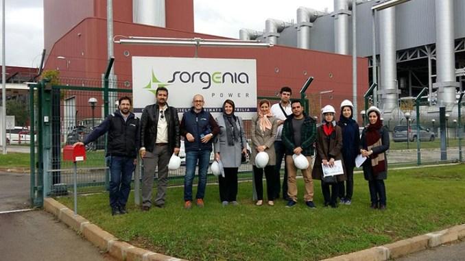 Una delegazione di Mapna Group visita la centrale Sorgenia di Aprilia