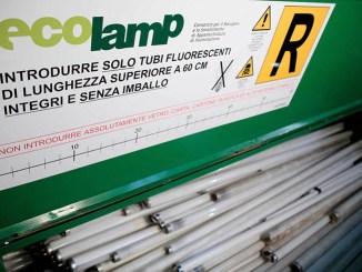 Ecolamp, nel 2016 raccolte tremila tonnellate di RAEE riciclate