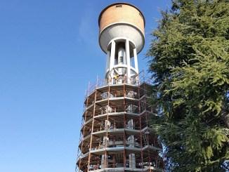Gruppo CAP e la torre dell'acquedotto di Santo Stefano Ticino