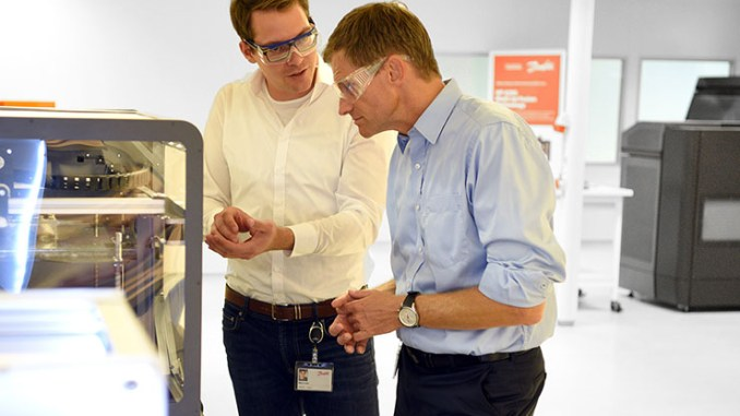 Danfoss si prepara integrare i processi di stampa 3D
