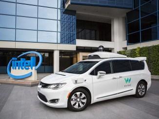 Waymo e Intel sviluppano la tecnologia per la guida autonoma