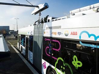 ABB, entrano in servizio i primi due e-bus a ricarica rapida