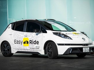 Nissan e DeNA portano al debutto la mobilità robotizzata Easy Ride