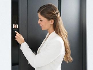 Schüco Door Control System Touch Display, sicurezza integrata